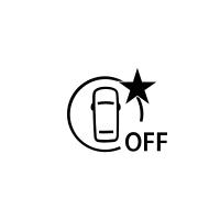 Spia di errore o non disponibilità della frenata attiva di emergenza (a seconda del veicolo)