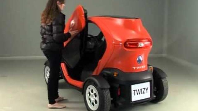 Twizy : Aperture e chiusure delle porte