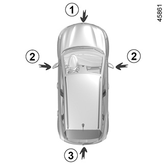 SODIAL Sensore di parcheggio posteriore R Sensore di parcheggio ad ultrasuoni