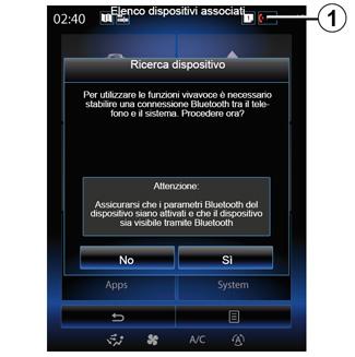 E-GUIDE RENAULT COM / R-LINK2 / Telefono / ASSOCIARE